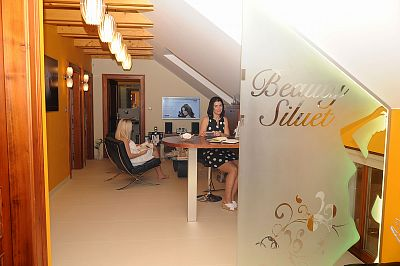 Salon Beauty Siluet - recepce