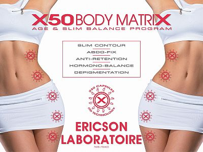 X50 Body Matrix - Ericson Laboratoire